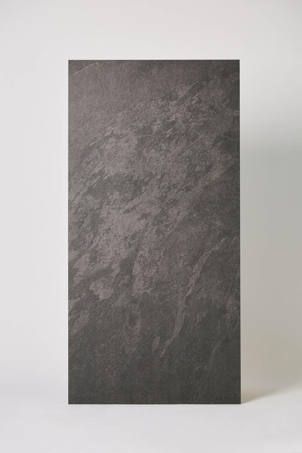 Płytka hiszpańska, gresowa, rektyfikowana, mrozoodporna, podłoga, ściana, matowa, rozmiar 60x120cm, łazienka, salon - ROCERSA Axis black