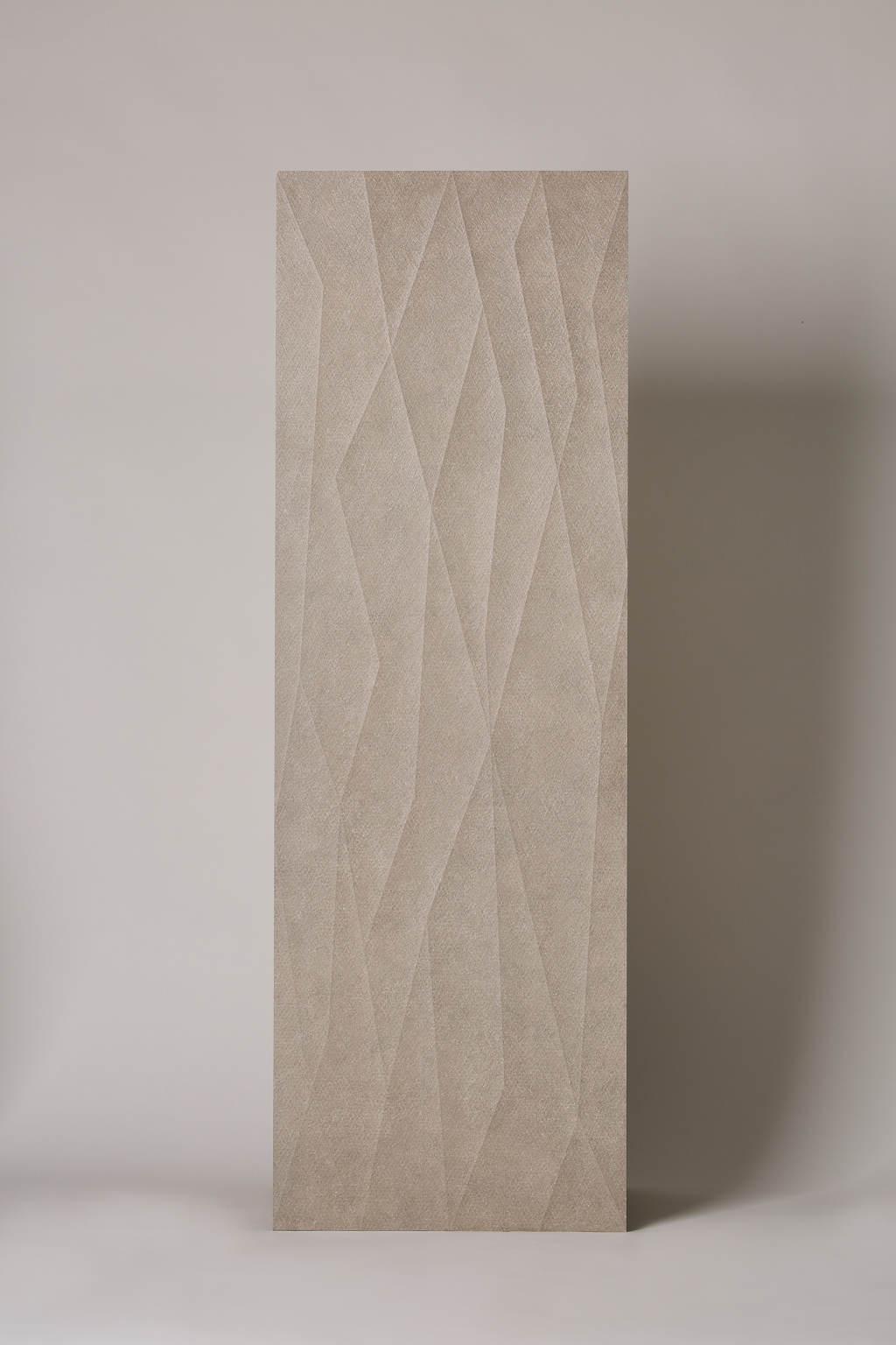 Płytka hiszpańska, gresowa, rektyfikowana, dekoracyjna, matowa, ścienna, rozmiar 40x120cm- Ape Click mist net