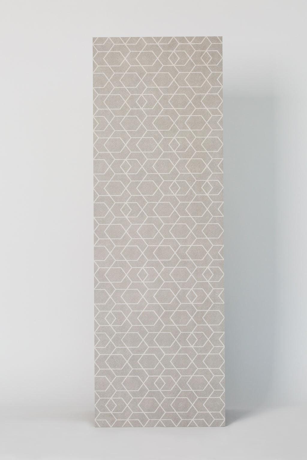 Płytka gresowa, dekoracyjna, matowa, ścienna, 40x120cm, imitacja tkaniny - Ape Cerámica, CLICK zeep mist