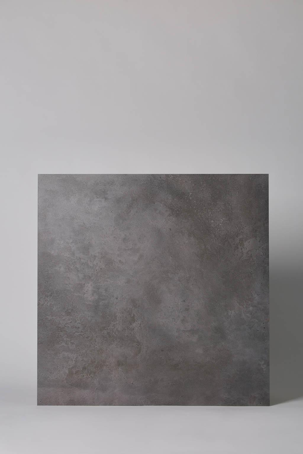 Płytka włoska, gresowa, rektyfikowana, mrozoodporna, podłoga, taras, matowa, rozmiar 81x81cm - COTTO PETRUS Emotion antracite