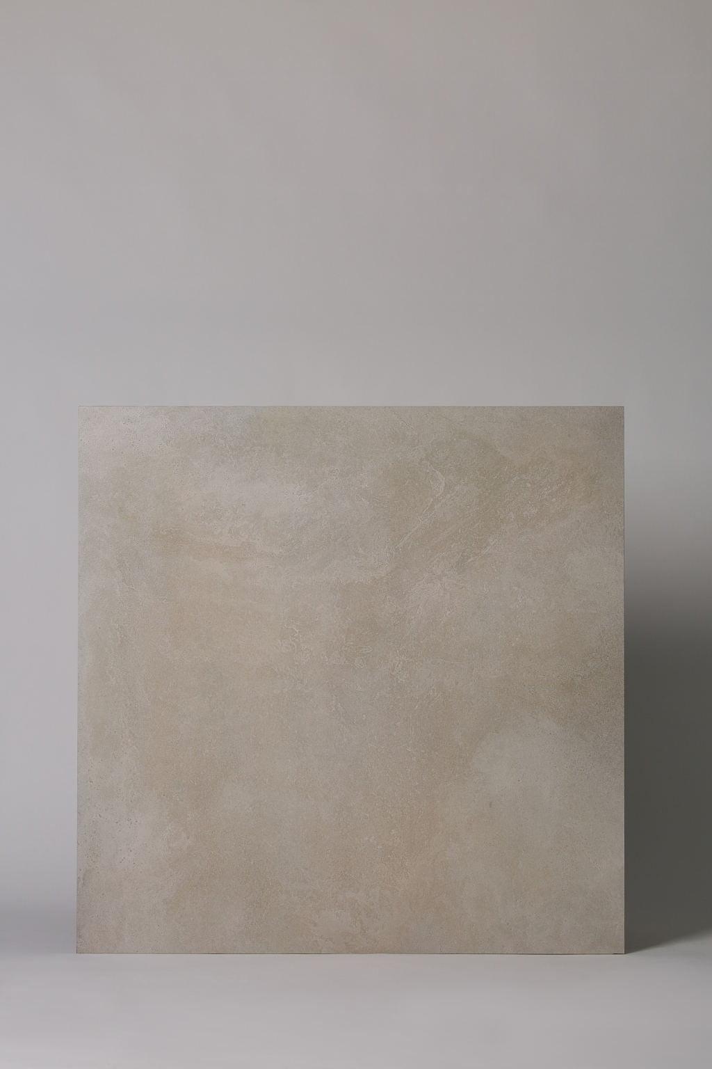 Płytka włoska, gresowa, rektyfikowana, mrozoodporna, podłoga, taras, matowa, rozmiar 81x81cm - COTTO PETRUS Emotion blanc