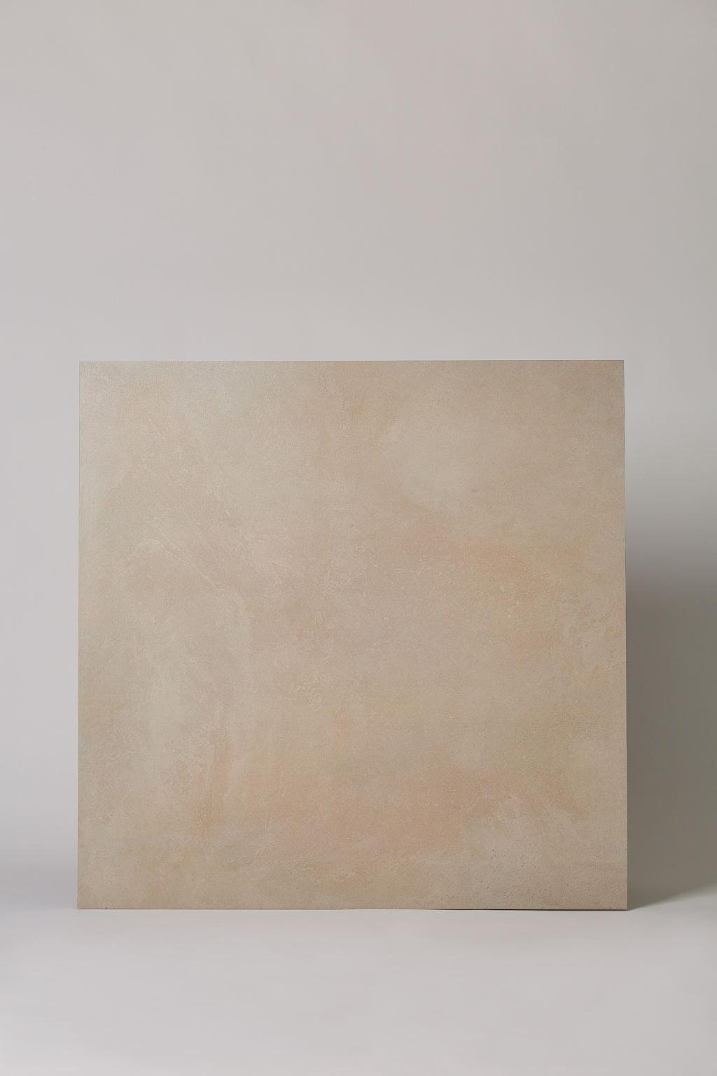 Płytka włoska, gresowa, rektyfikowana, mrozoodporna, podłoga, taras, matowa, rozmiar 81x81cm - COTTO PETRUS Emotion taupe