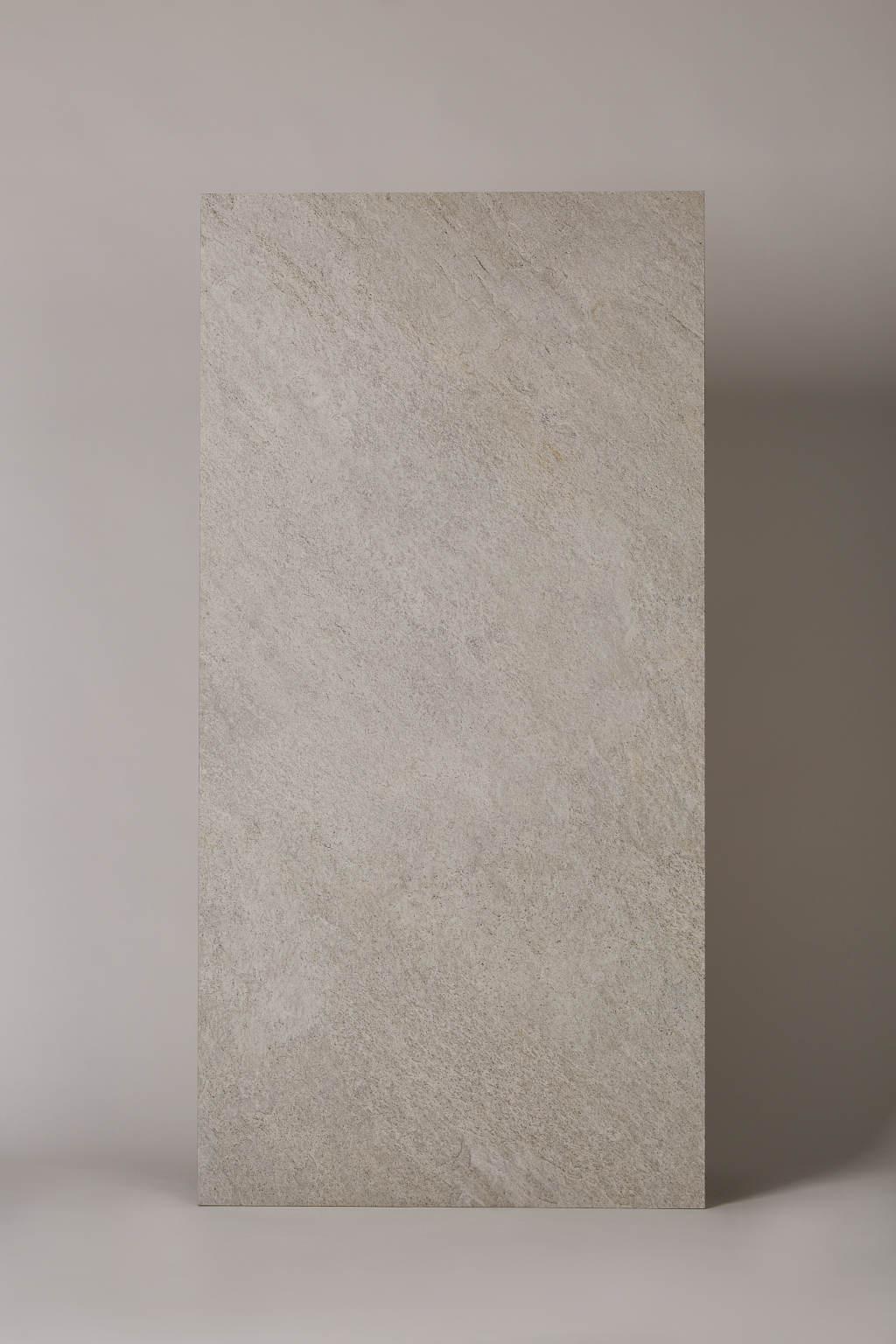 Płytka gresowa, włoska, matowa, rozmiar 60x120cm, rektyfikowana, mrozoodporna, podłoga, ściana - LA FABBRICA Storm salt 60×120